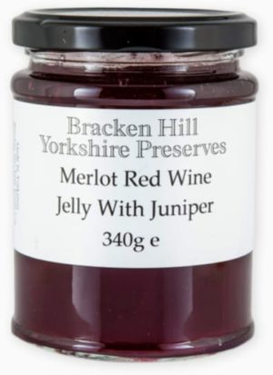 Merlot Red Wine Jelly with Juniper 340g