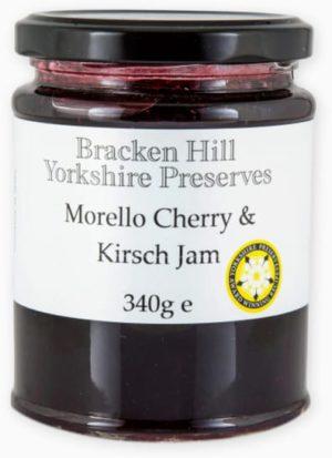 Morello Cherry & Kirsch Jam