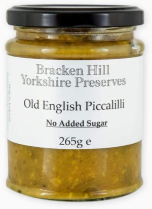 Old English Piccalilli No Added Sugar (Mustard) 265g