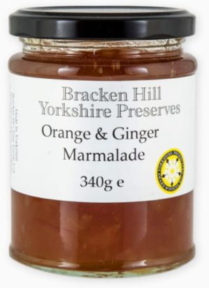 Orange & Ginger Marmalade 340g