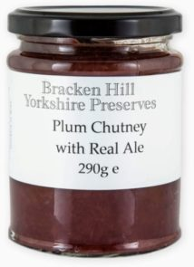 Plum Chutney with Real Ale