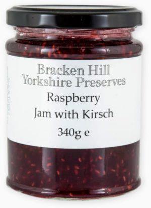 Raspberry Preserve with Kirsch 340g