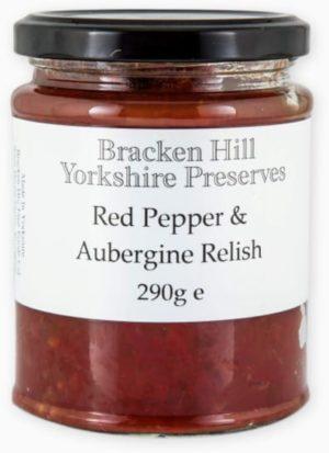 Red Pepper & Aubergine Relish 290g
