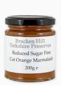 Reduced Sugar Fine Cut Orange Marmalade
