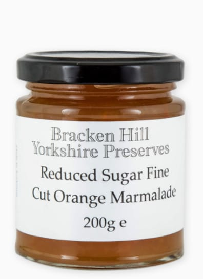 Reduced Sugar Fine Cut Orange Marmalade