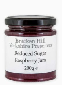 Reduced Sugar Raspberry Jam