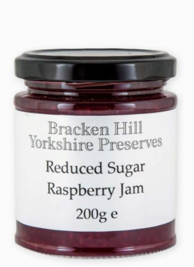 Reduced Sugar Raspberry Jam