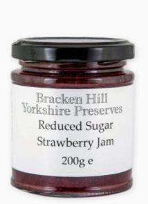 Reduced Sugar Strawberry Jam