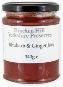 Rhubarb & Ginger Jam