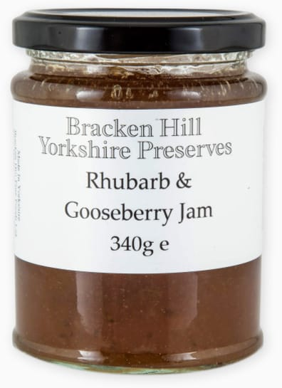 Rhubarb & Gooseberry Jam