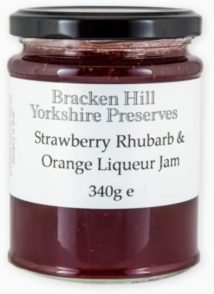 Strawberry Rhubarb & Orange Liqueur Jam