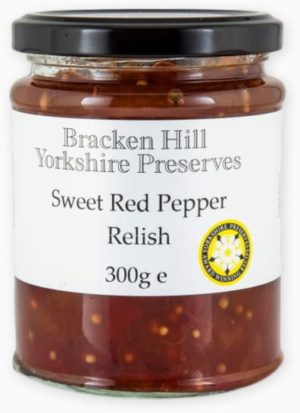 Sweet Red Pepper Relish 300g