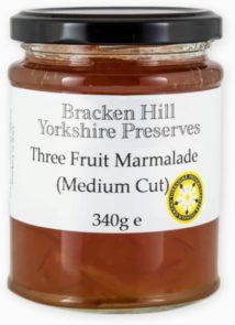 Three Fruit Marmalade Medium Cut