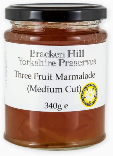 Three Fruit Marmalade Medium Cut