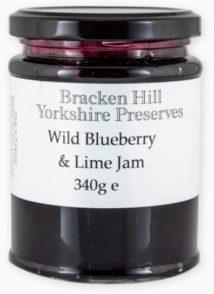 Wild Blueberry & lime Jam