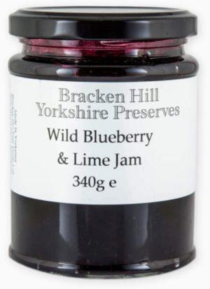 Wild Blueberry & Lime Jam 340g