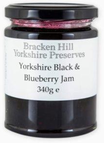 Yorkshire Black & Blueberry Jam