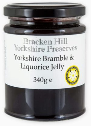 Yorkshire Bramble & Liquorice Jelly 340g