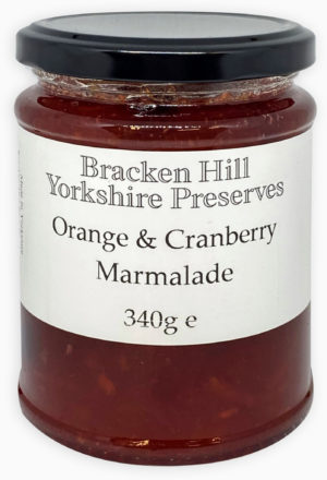 Orange and Cranberry Marmalade