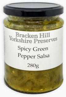 Spicy Green Pepper Salsa