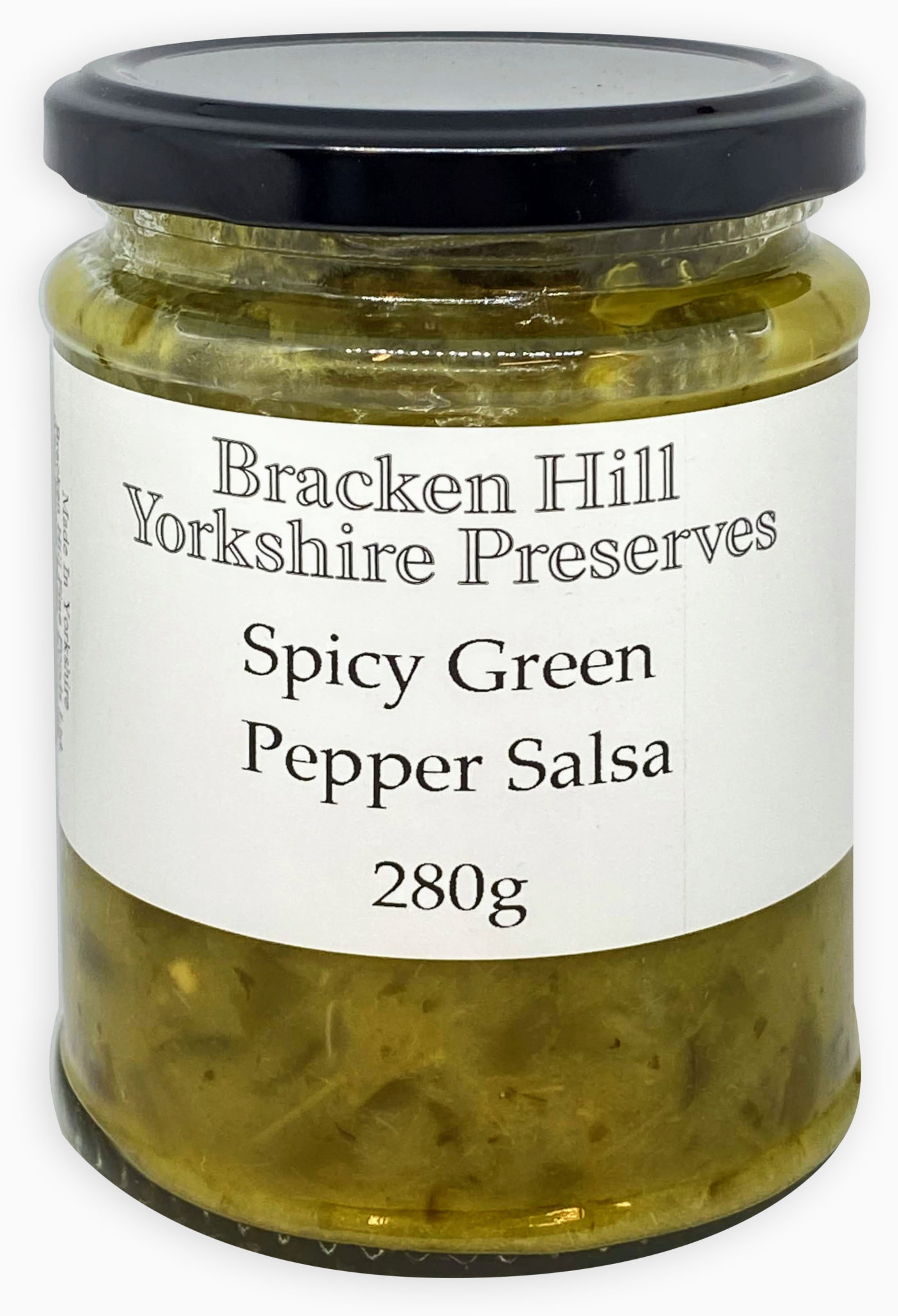 Spicy Green Pepper Salsa